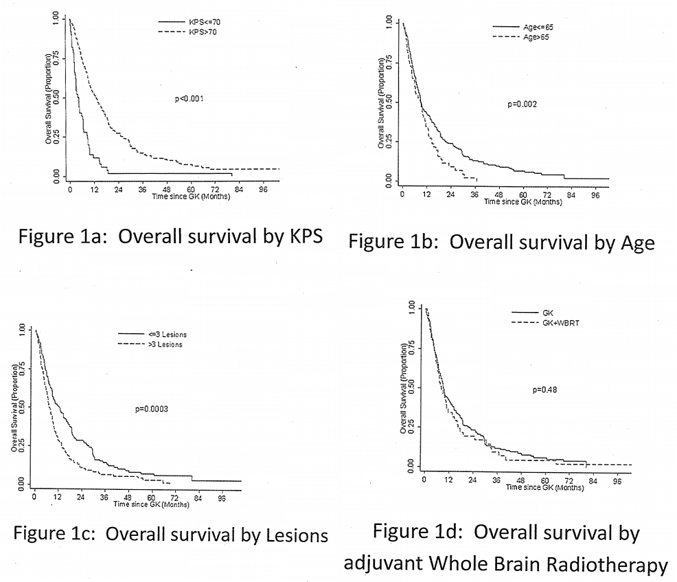 Figure 1: The Median Overall Survival For The Entire Cohort From The Time  Of Diagnosis