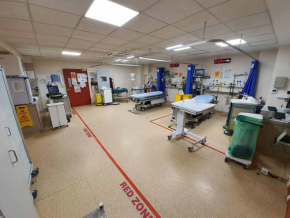 """""""Red""""-resuscitation-room-for-potential/COVID-19-positive-cases."""