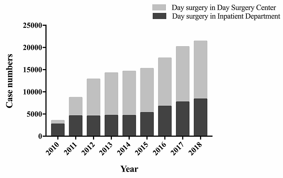 The-total-number-of-day-surgeries-performed-at-the-WCH-Day-Surgery-Center-and-WCH-Inpatient-Departments-from-2010-to-2018.