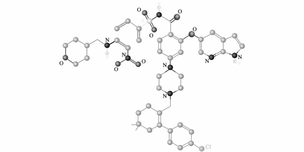 Structure-of-venetoclax