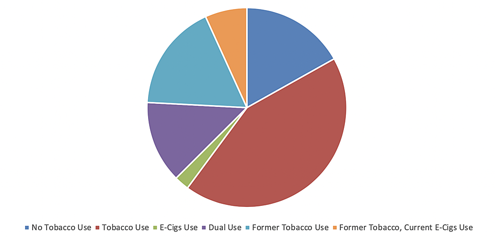 Pie-chart-showing-different-types-and-percentage-of-tobacco-users
