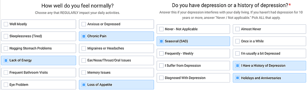 Example-questions-and-answers-from-the-Chronic-Disease-Assessment™-health-risk-assessment-survey