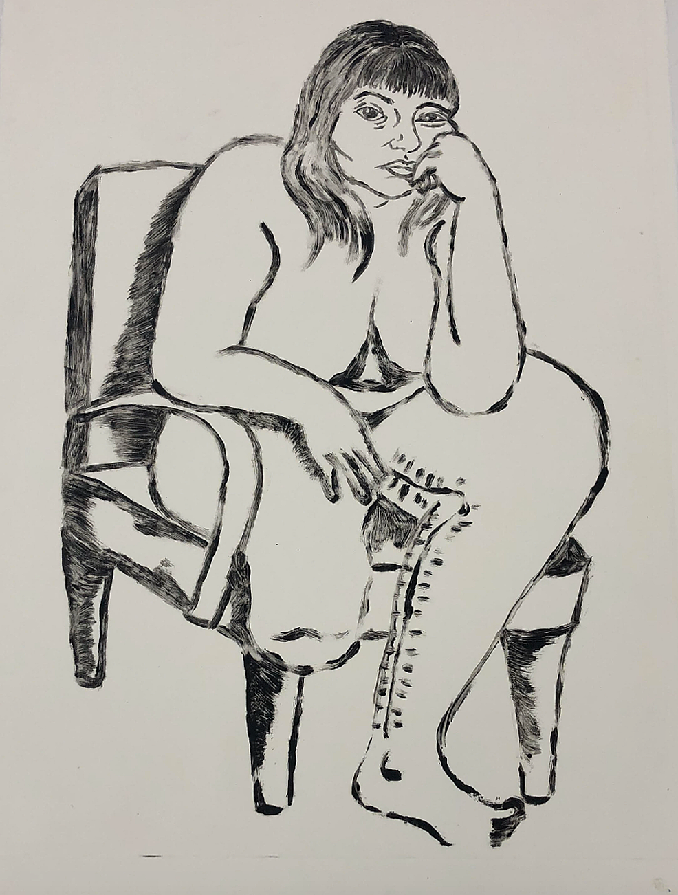 Self-portrait-of-ZS-created-during-post-operative-period