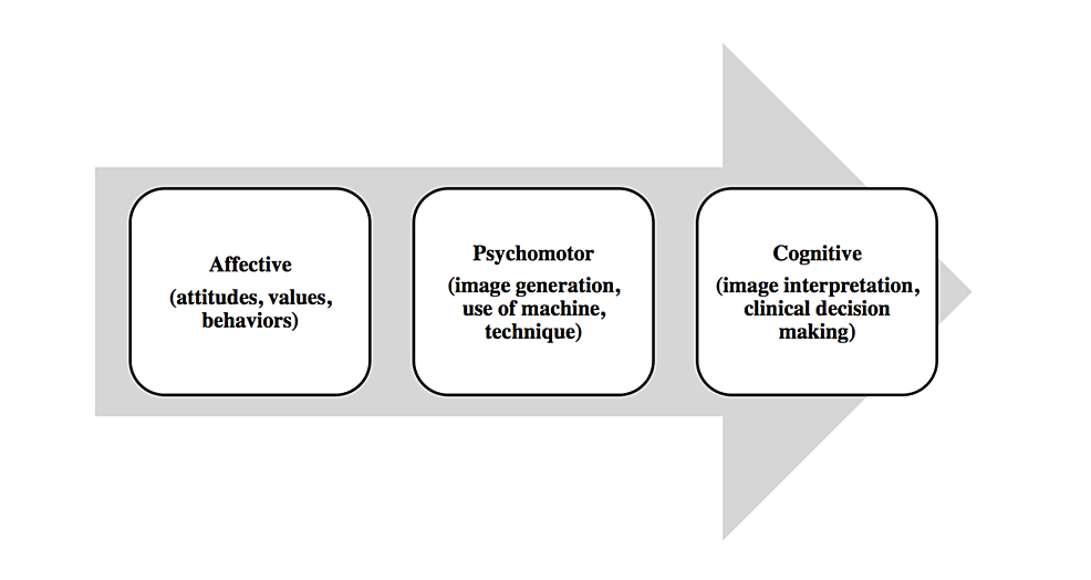 Educational-theory-underpinning-undergraduate-ultrasound-curriculum--(adapted-from-Bloom's-taxonomy-of-educational-objectives)