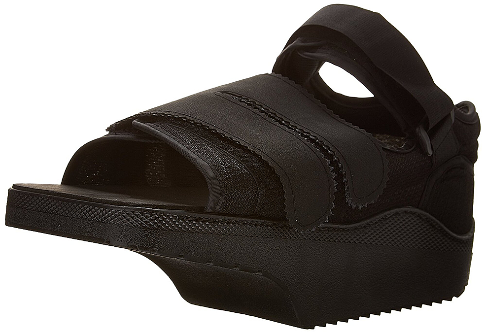 Heel-wedged-velcro-shoe