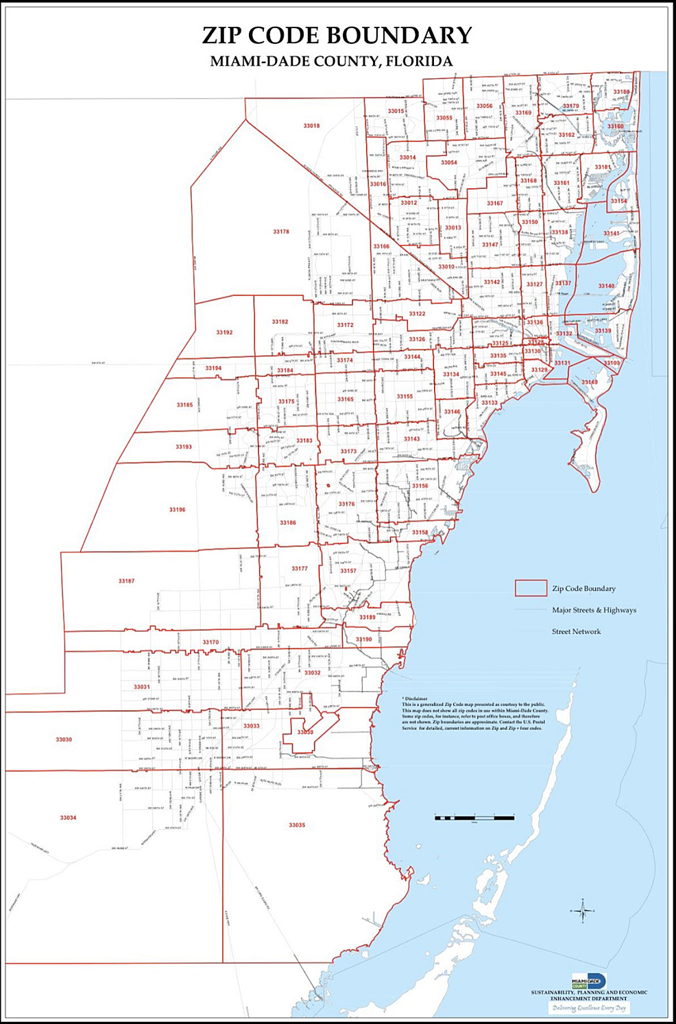 ZIP-Code-Boundary-of-Miami-Dade-County