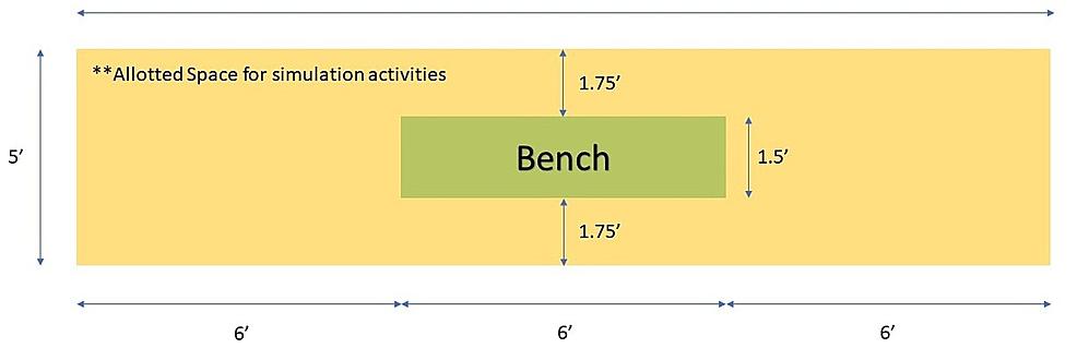 Simulated-ice-hockey-bench-blueprints