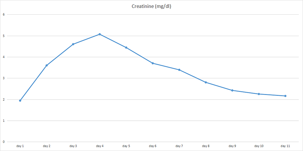 -Graph-illustrating-trends-in-the-serum-creatinine-of-the-patient-during-hospitalization