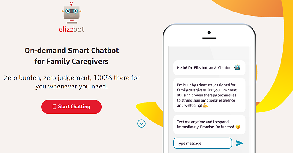 Elizzbot-landing-page