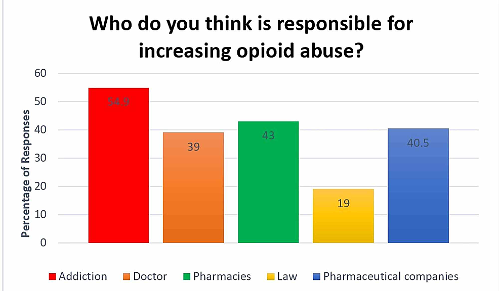 -Responses-on-who-doctors-think-is-responsible-for-increasing-opioid-use