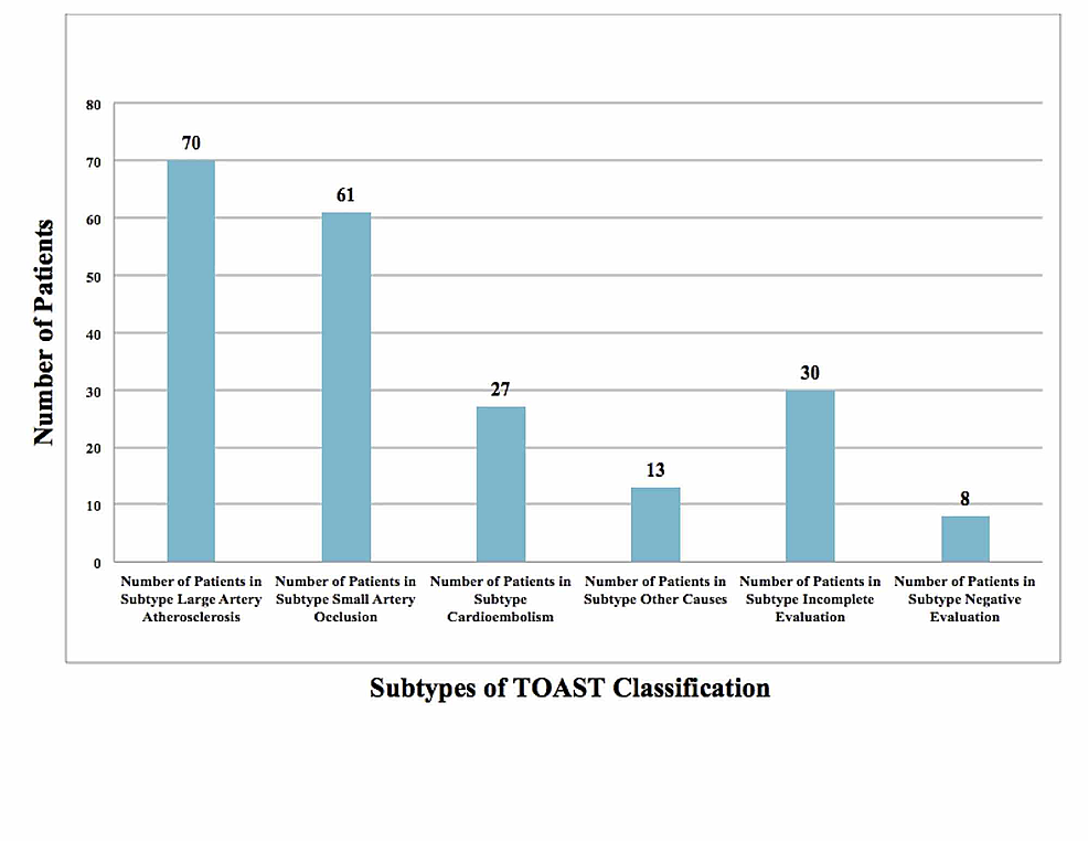 TOAST-Classification-of-Stroke-Patients-in-the-Study