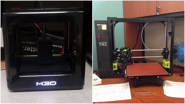 Micro-M3D-(left)-and-LulzBot-TAZ-6-(right)