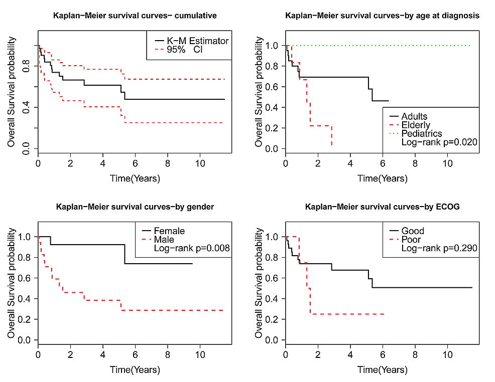 Kaplan-Meier-survival-analysis-based-on-patient-demographics