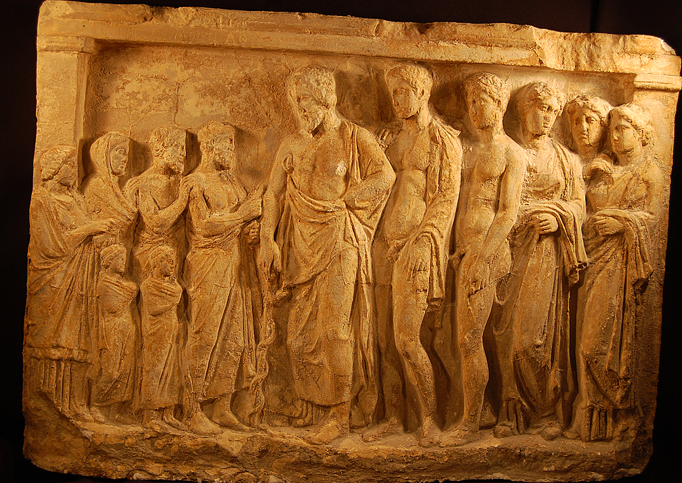 Asclepius-with-his-sons