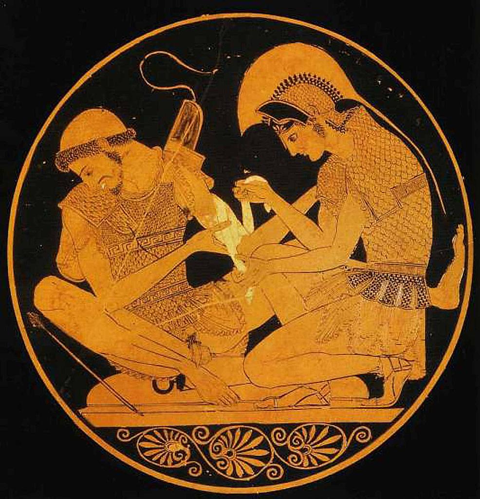Achilles-tending-Patroclus