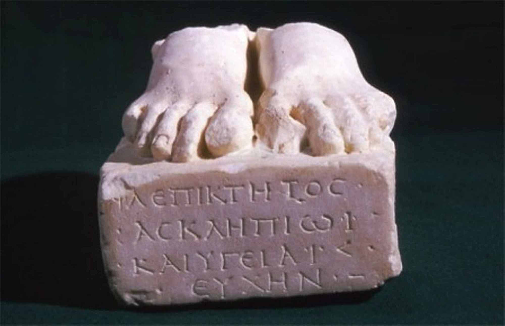 Votive-sculpture-dedicated-to-Asclepius-and-Hygeia.-Part-of-the-Asclepeion-of-Acropolis