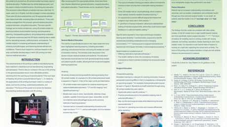 Content card 5b791150a54b11e6becdcb68a4c7c649 21resized cags poster literature review on medical education and 3d printing  michael bartellas