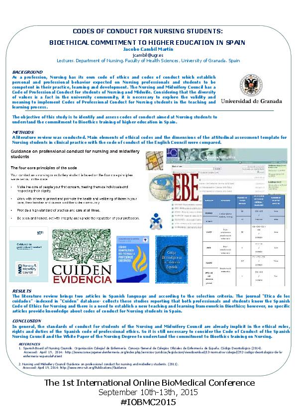 Converted iobmc 2015 nursing ethics