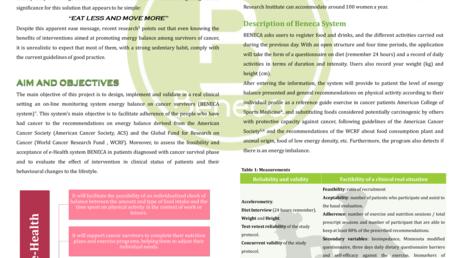 Content card presentation iobmc2015 beneca proyect presentation english version 2